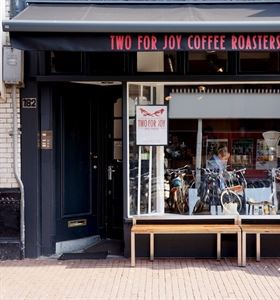 Koffiespot in Amsterdam: Two for Joy coffee roasters